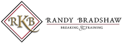 Randy Bradshaw Breaking & Training